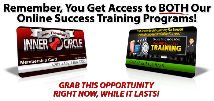 Online Success Combined Training from John and Dave Download